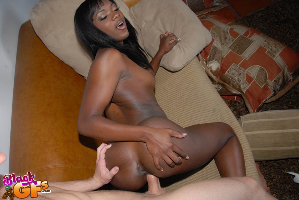 Amateur Ebony Teen Facial
