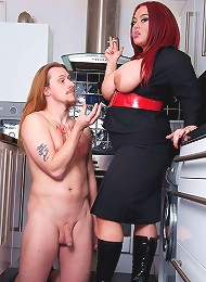 Mistress Jemstone Forces Tanya Cox To Suck And Fuck Big Tony