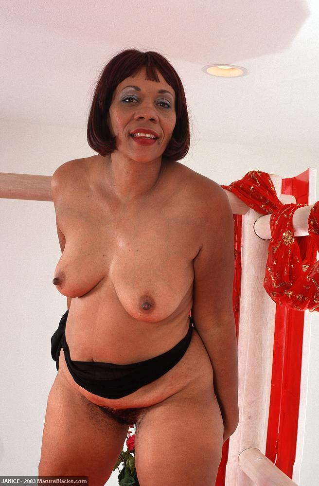 mature Old women black