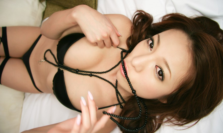 Horny moe yoshikawa gets two guys to fuck her good 9