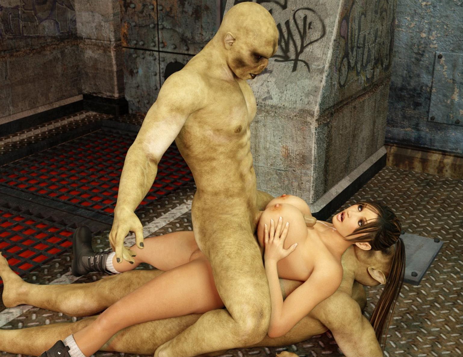 Zombie animated fuck porn scene