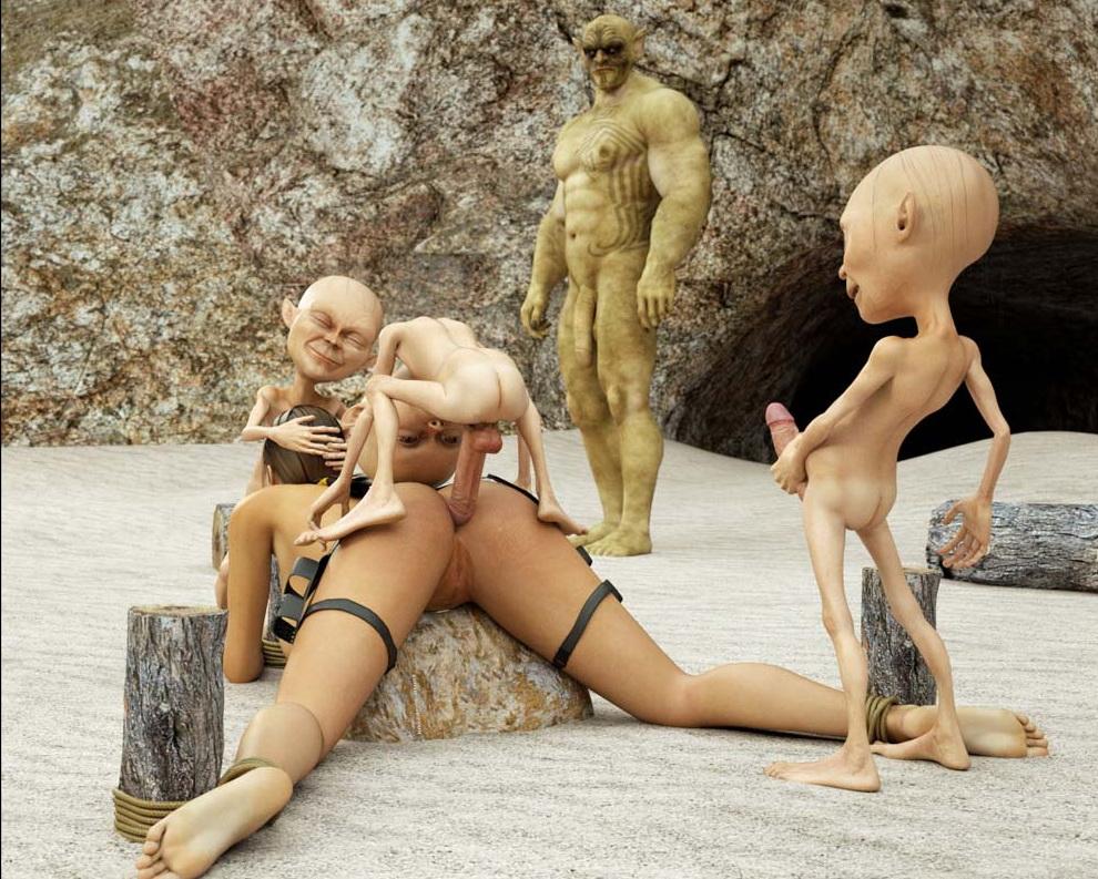 Порно анал лара крофт и гномы 62421 фотография