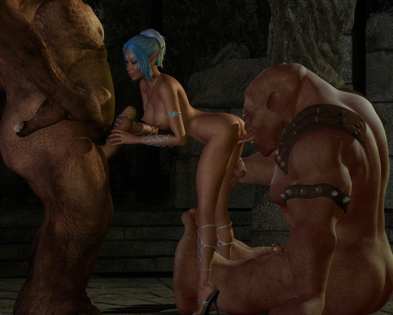 3d pornocraft elf rape xxx video