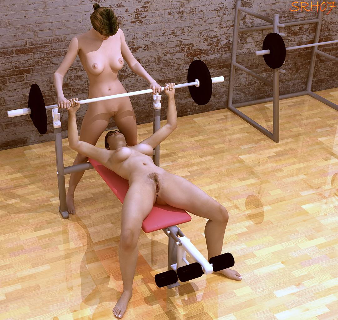 секс в тренажерном зале рамсказ