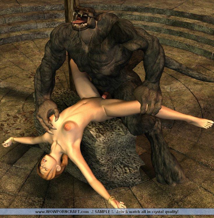 3д порно ужасы монстры