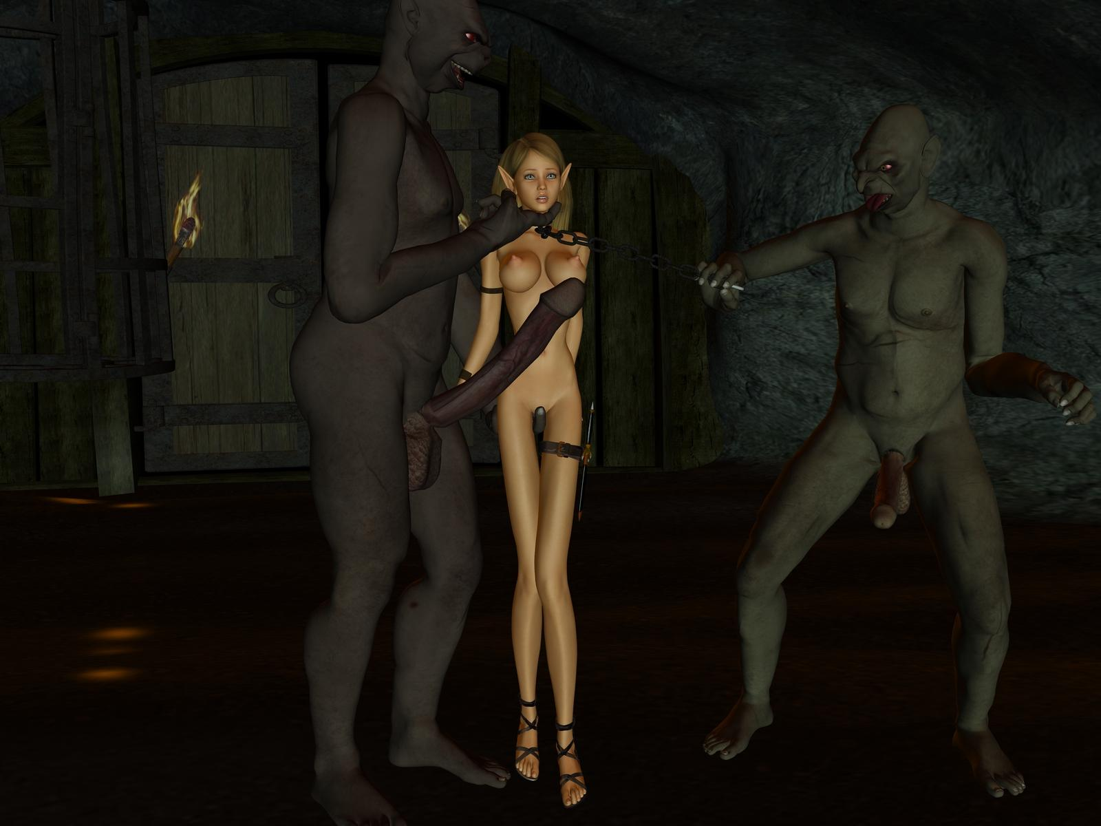 A blood elf is captured and raped  hentai thumbs
