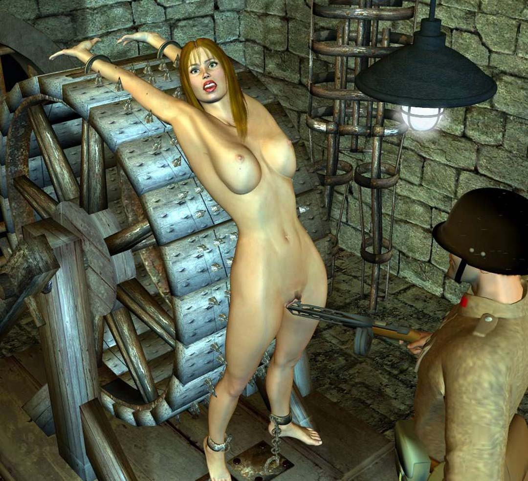 Hentai girl stripped and tortured in medieval  nude tube