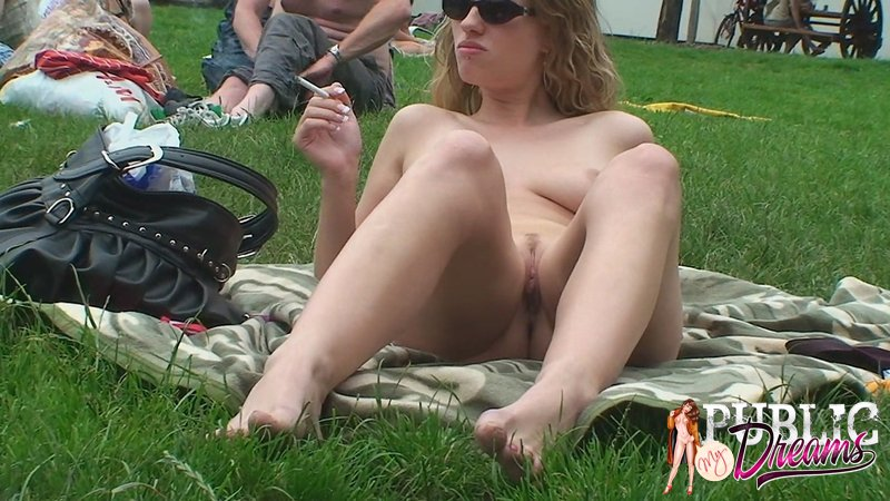 Man Eating Pussy Public