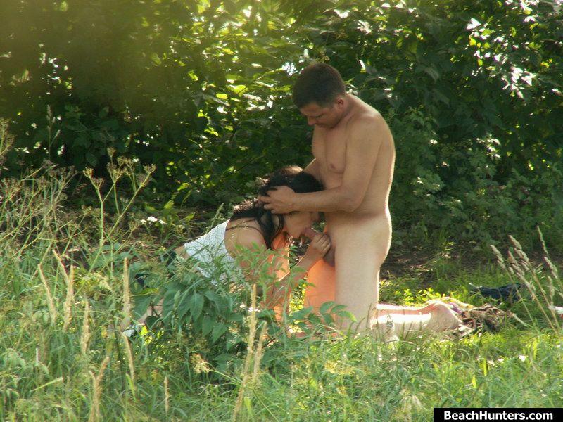 Порно Секс На Природе Подглядывание