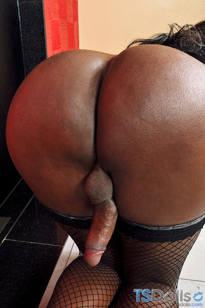 Black big booty shemales