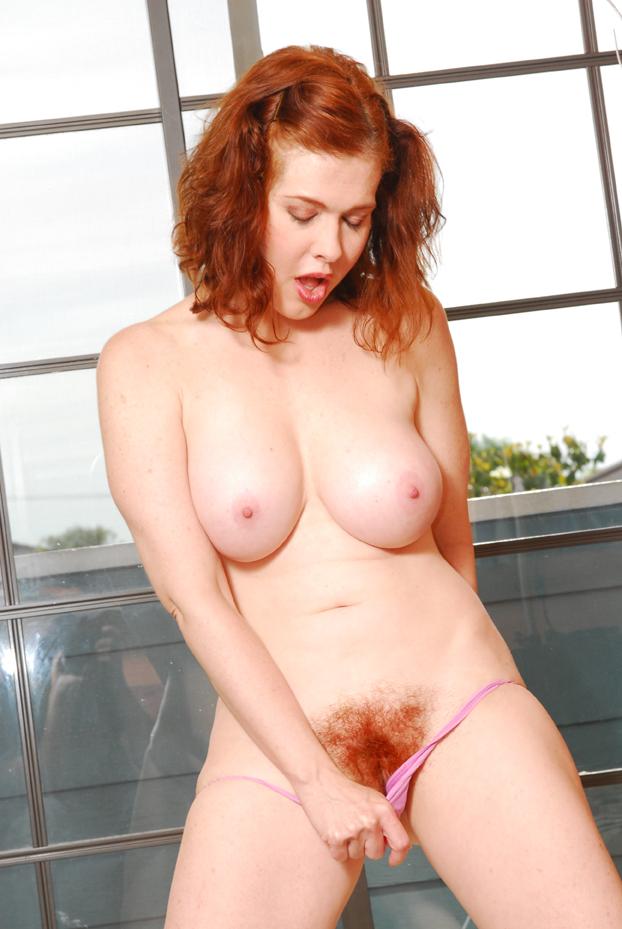bright red head porn star