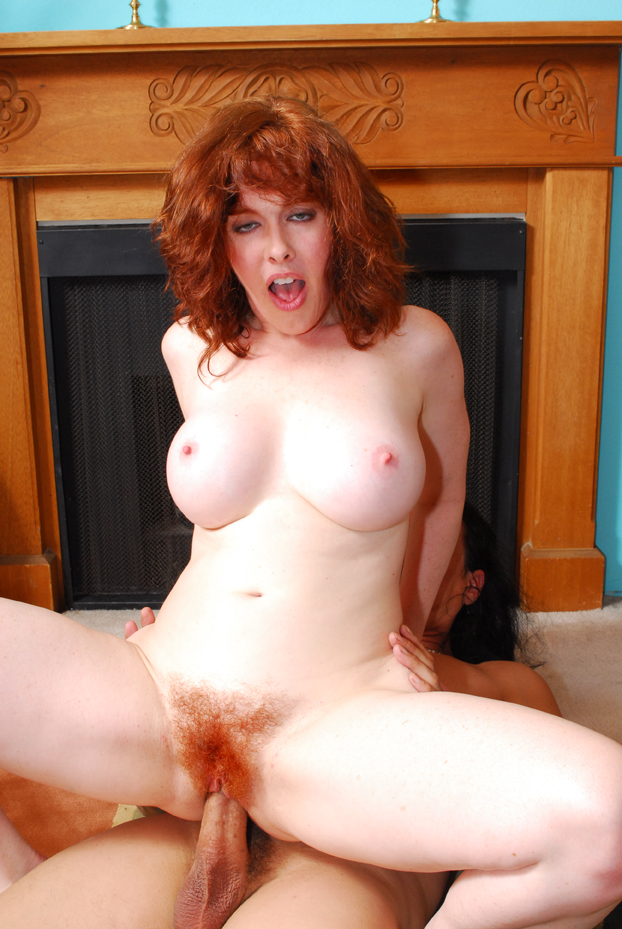 hot toppless redhead women